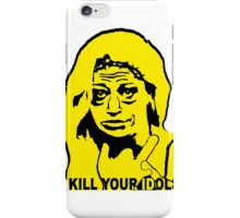 BELEN ESTEBAN - KILL YOUR IDOLS iPhone Case/Skin