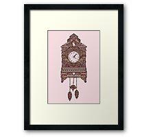 Autumn Cuckoo Clock Framed Print