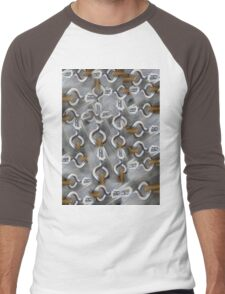 eye hooks Men's Baseball ¾ T-Shirt