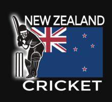 New Zealand Cricket Kids Tee