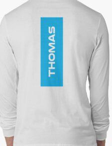 Geraint Thomas White Long Sleeve T-Shirt