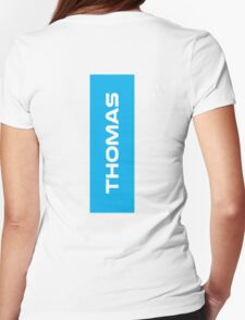 Geraint Thomas White Womens Fitted T-Shirt