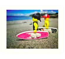 Pre-surf Art Print