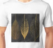 Fallen Gold Autumn Leaves I Unisex T-Shirt
