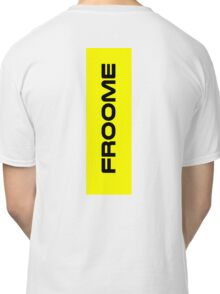 Chris Froome Yellow Classic T-Shirt