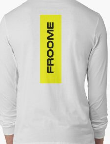 Chris Froome Yellow Long Sleeve T-Shirt