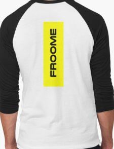 Chris Froome Yellow Men's Baseball ¾ T-Shirt