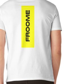 Chris Froome Yellow Mens V-Neck T-Shirt