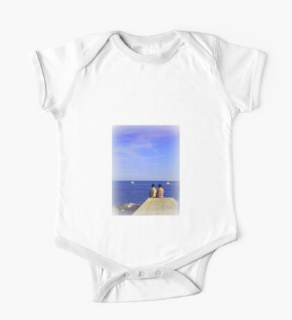 Waiting for Sunset One Piece - Short Sleeve