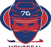 Montreal Hockey T-Shirt by pcstuff