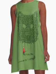 Red & The Wolf A-Line Dress