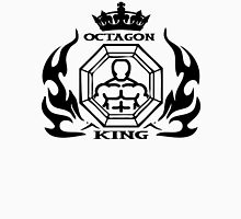 MMA Mixed Martial Arts Octagon King Womens Fitted T-Shirt