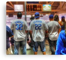 Dodger Fans Canvas Print