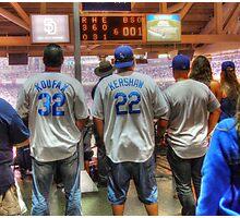 Dodger Fans Photographic Print