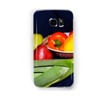 Fruits And Veggies Samsung Galaxy Case/Skin
