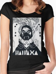 Grimes Artwork #3 Women's Fitted Scoop T-Shirt
