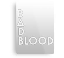 Bastille - Bad Blood #2 Metal Print