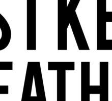 Just Keep Breathing Sticker