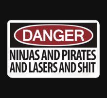 DANGER: There's danger afoot! T-Shirt