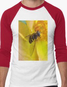 b Men's Baseball ¾ T-Shirt