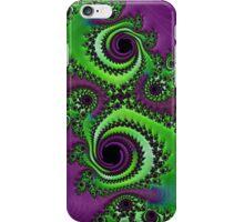 Gorgeous Purple Green Fractal  iPhone Case/Skin
