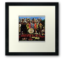 Sgt Pepper's Lonely Hearts Club Band Framed Print