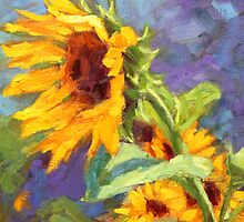Sunflowers by Kim  Stenberg