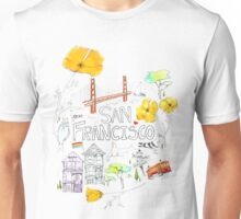 Friends + Neighbors : San Francisco Unisex T-Shirt
