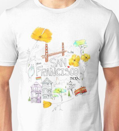 Friends + Neighbors : San Francisco Unisex T-Shirt