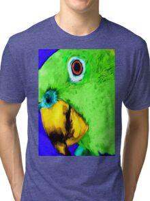 green bird Tri-blend T-Shirt
