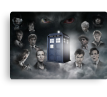Doctor Who, The Oncoming Storm Canvas Print