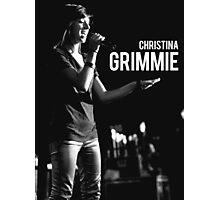 Christina Grimmie Photographic Print
