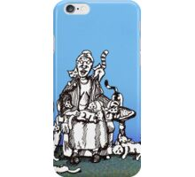 Cat Lady 2 iPhone Case/Skin