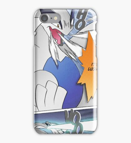 It's Lugia!! Manga Edit iPhone Case/Skin