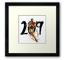 209 Framed Print