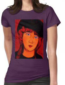 portrait of lolottle Womens Fitted T-Shirt