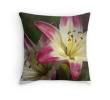 Another Friggen Flower! Throw Pillow