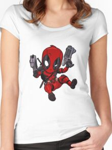 Deadpool cibby Women's Fitted Scoop T-Shirt
