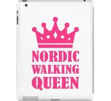 Nordic Walking queen iPad Case/Skin
