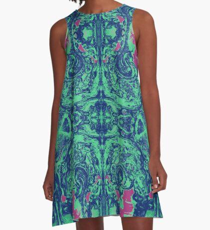 Kaleidoscope Vision A-Line Dress