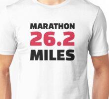 Marathon 26 miles Unisex T-Shirt