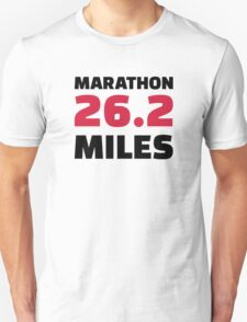 Marathon 26 miles T-Shirt