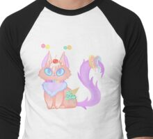 Candy Cat Men's Baseball ¾ T-Shirt