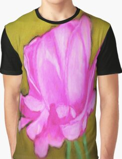 pretty pink flower Graphic T-Shirt