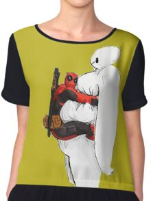 Deadpool Chiffon Top