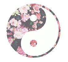 Floral Yin Yang by emmieeann