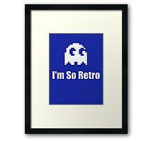 I'm So Retro - Computer Gamer T-Shirt Framed Print