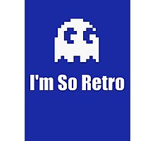 I'm So Retro - Computer Gamer T-Shirt Photographic Print