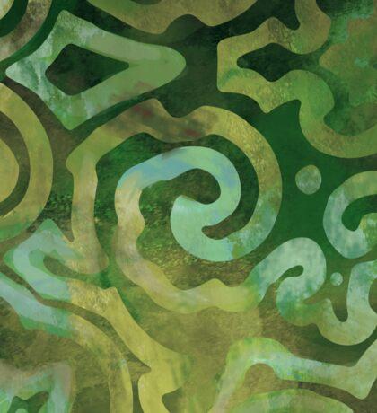 Native Elements Ocean Green Sticker