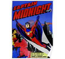 captain midnight in flight Poster